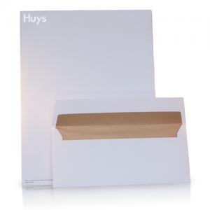 Postenvelop met huisstuil