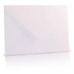 Standaard wenskaart envelop wit