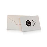 Maatwerk envelop met speciale vorm plakrand